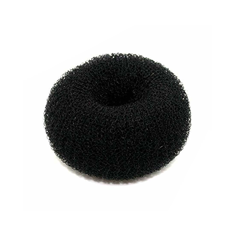Hair Bun Shaper Color Black Size MediumThick متجر 15 وأقل
