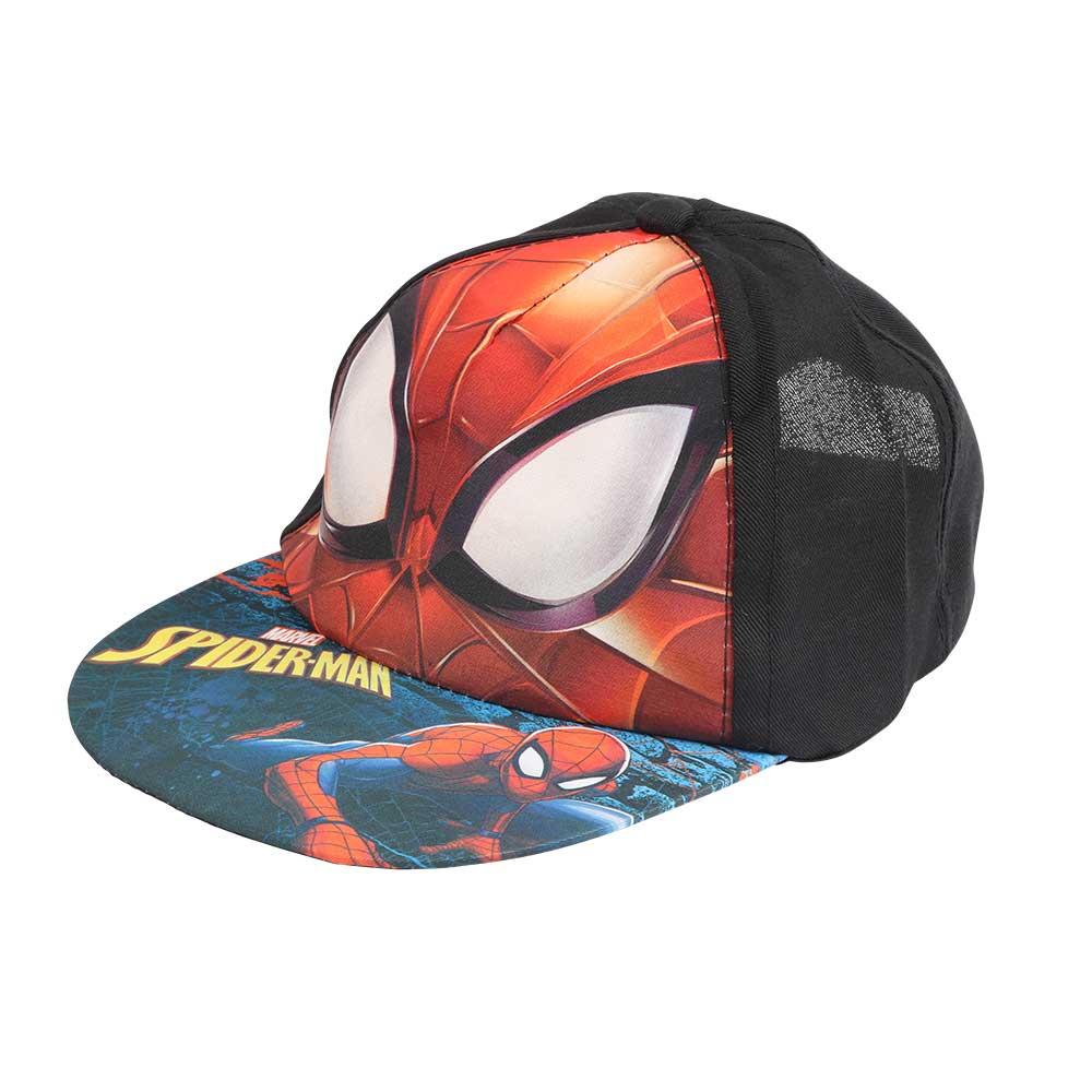 قبعة مطبوعة بشخصية سبايدر مان لون أسود متجر 15 وأقل