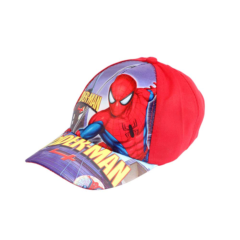 Spider-Man Print Hat Color Red متجر 15 وأقل