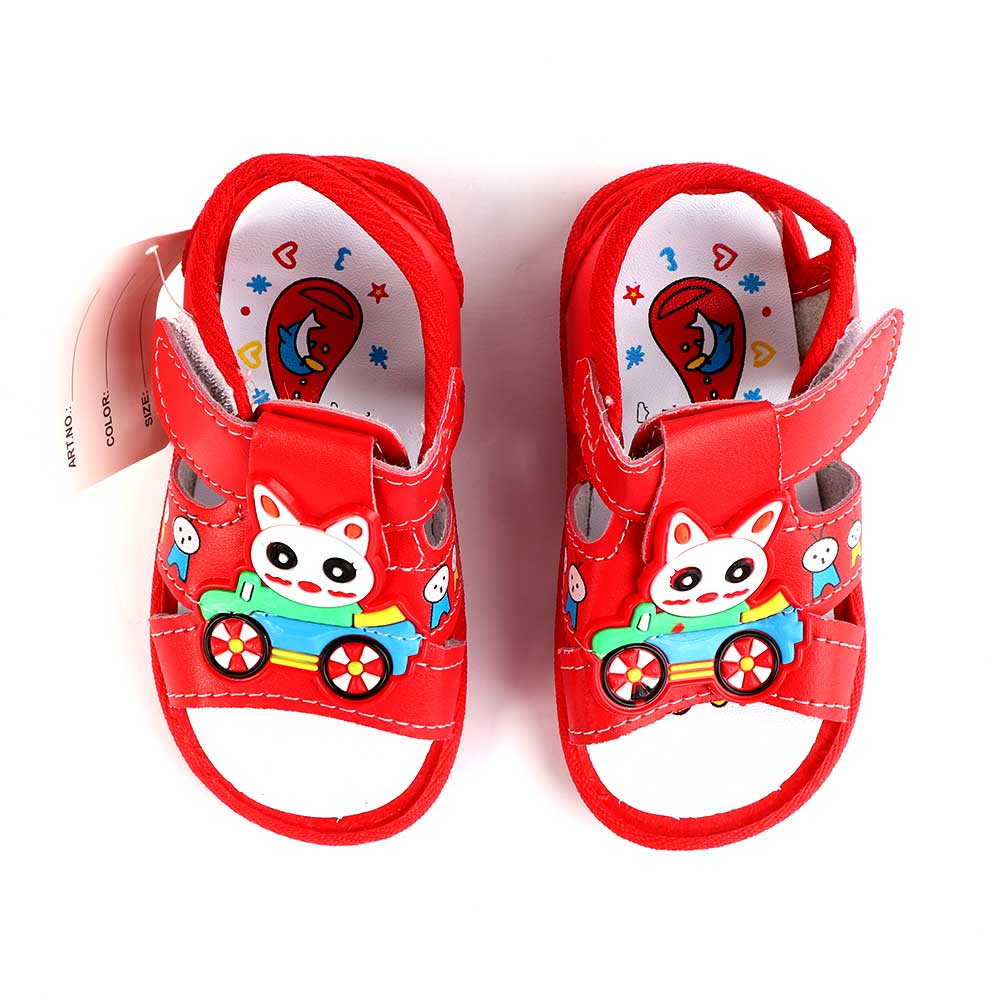 Children Shoes With Whistle Size 19 Color Red متجر 15 وأقل