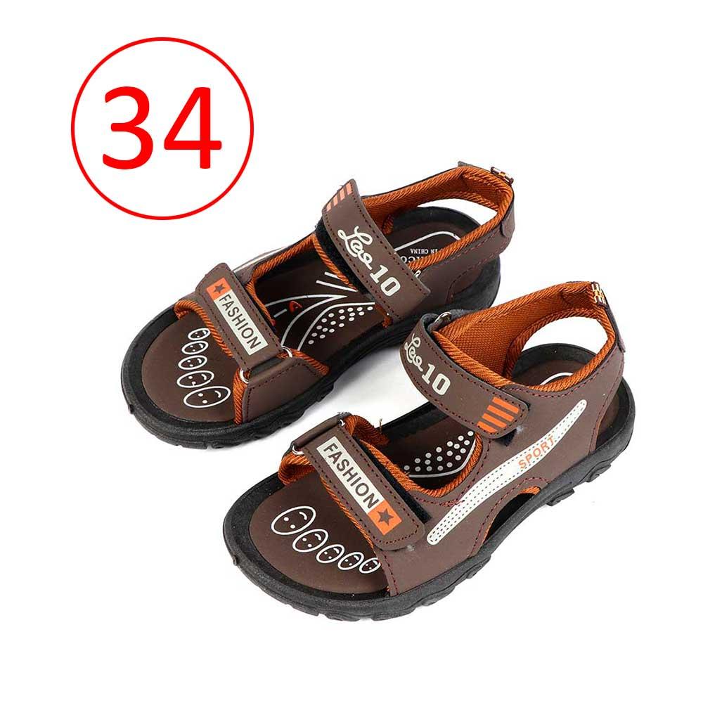 حذاء ولادي مقاس34 لون بني غامق متجر 15 وأقل