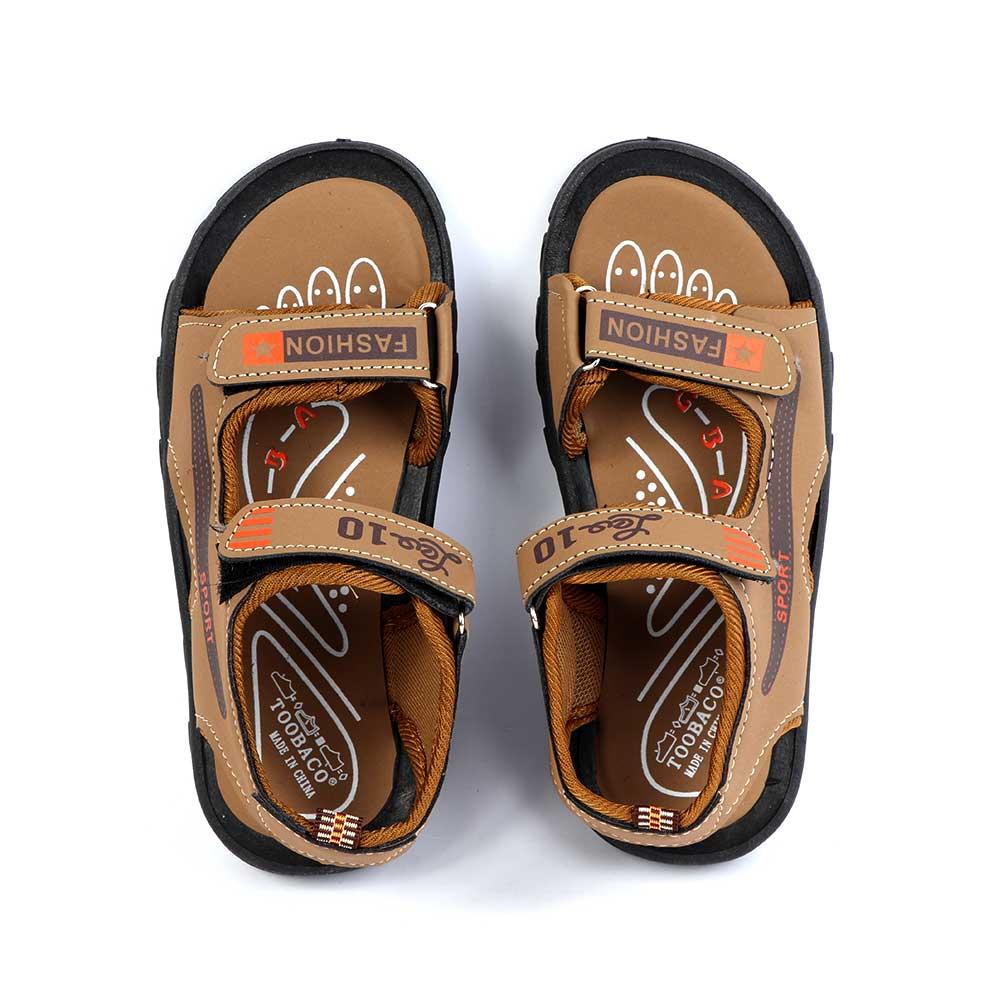 حذاء ولادي مقاس34 لون بني متجر 15 وأقل