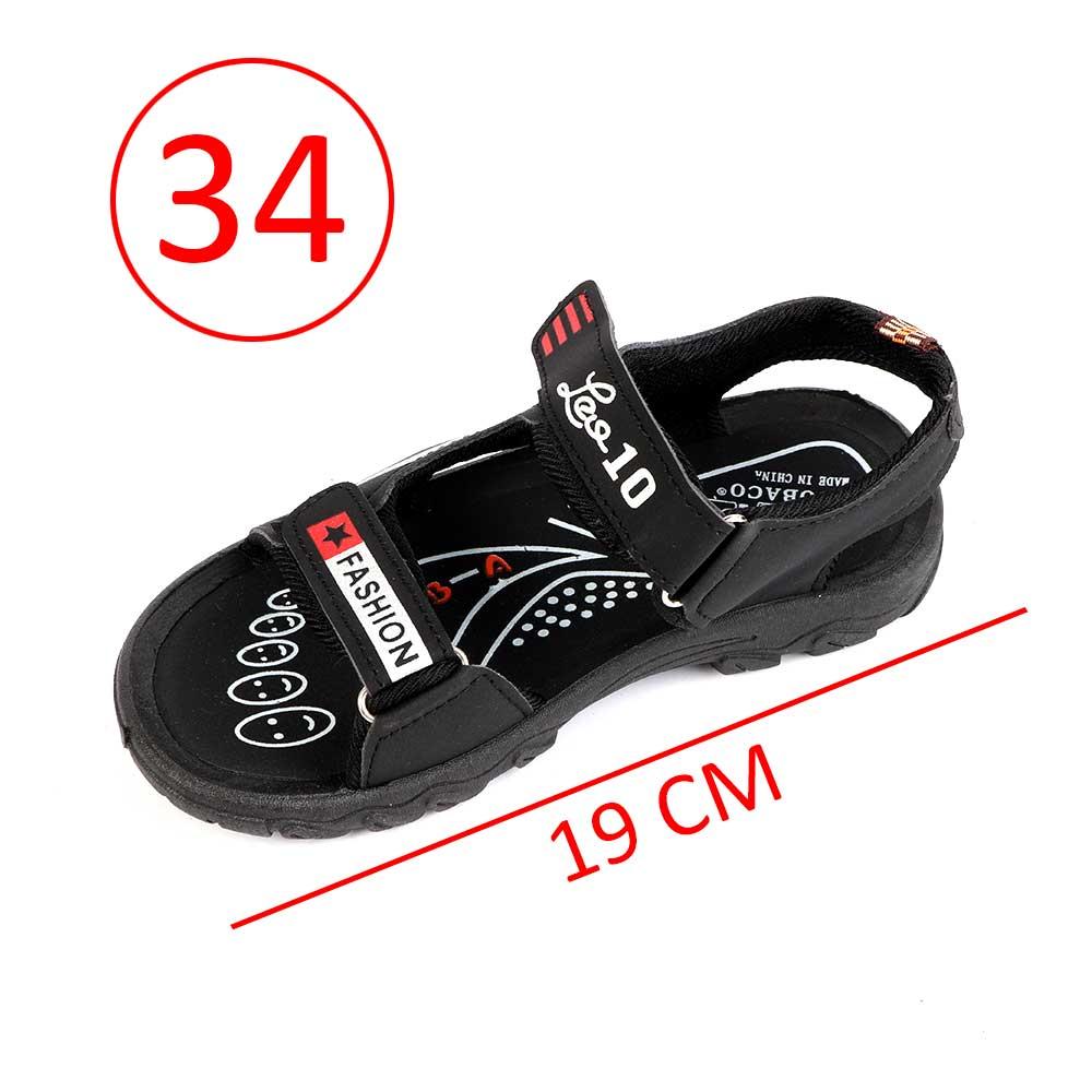 حذاء ولادي مقاس34 لون أسود متجر 15 وأقل