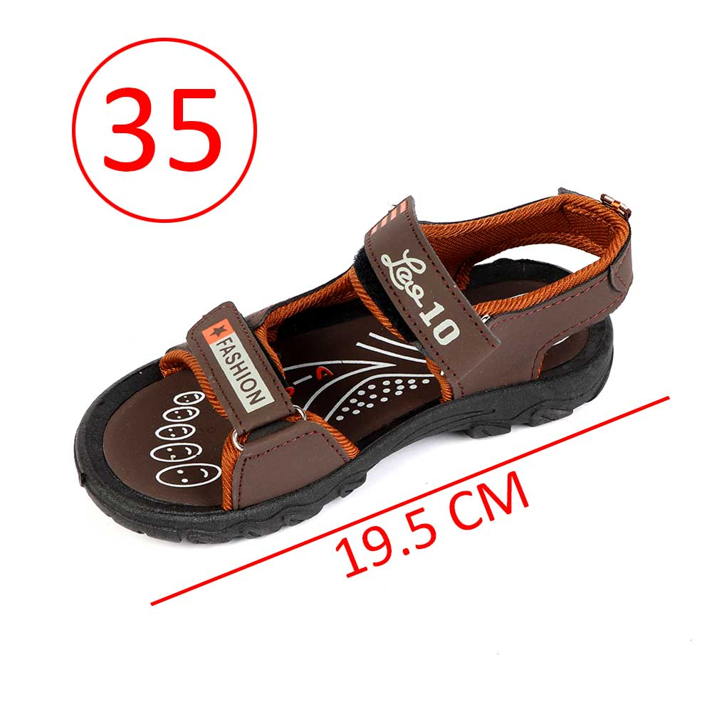 Boys' Shoes Size 35 Color Dark Brown متجر 15 وأقل