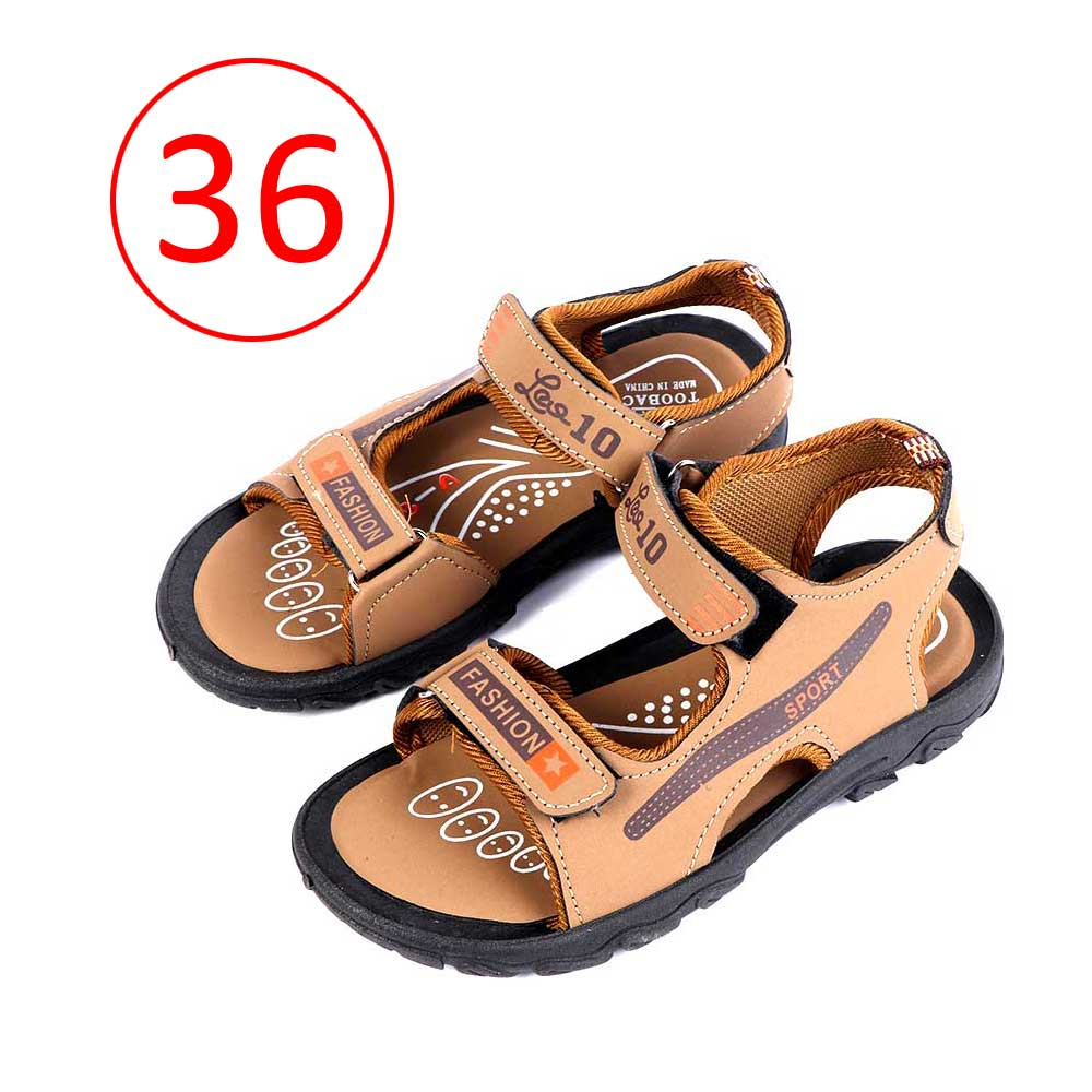 حذاء ولادي مقاس36 لون بني متجر 15 وأقل