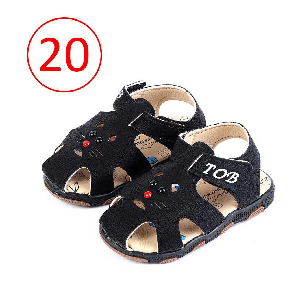 Children Closed Toe Shoes Size 20 Color Black متجر 15 وأقل