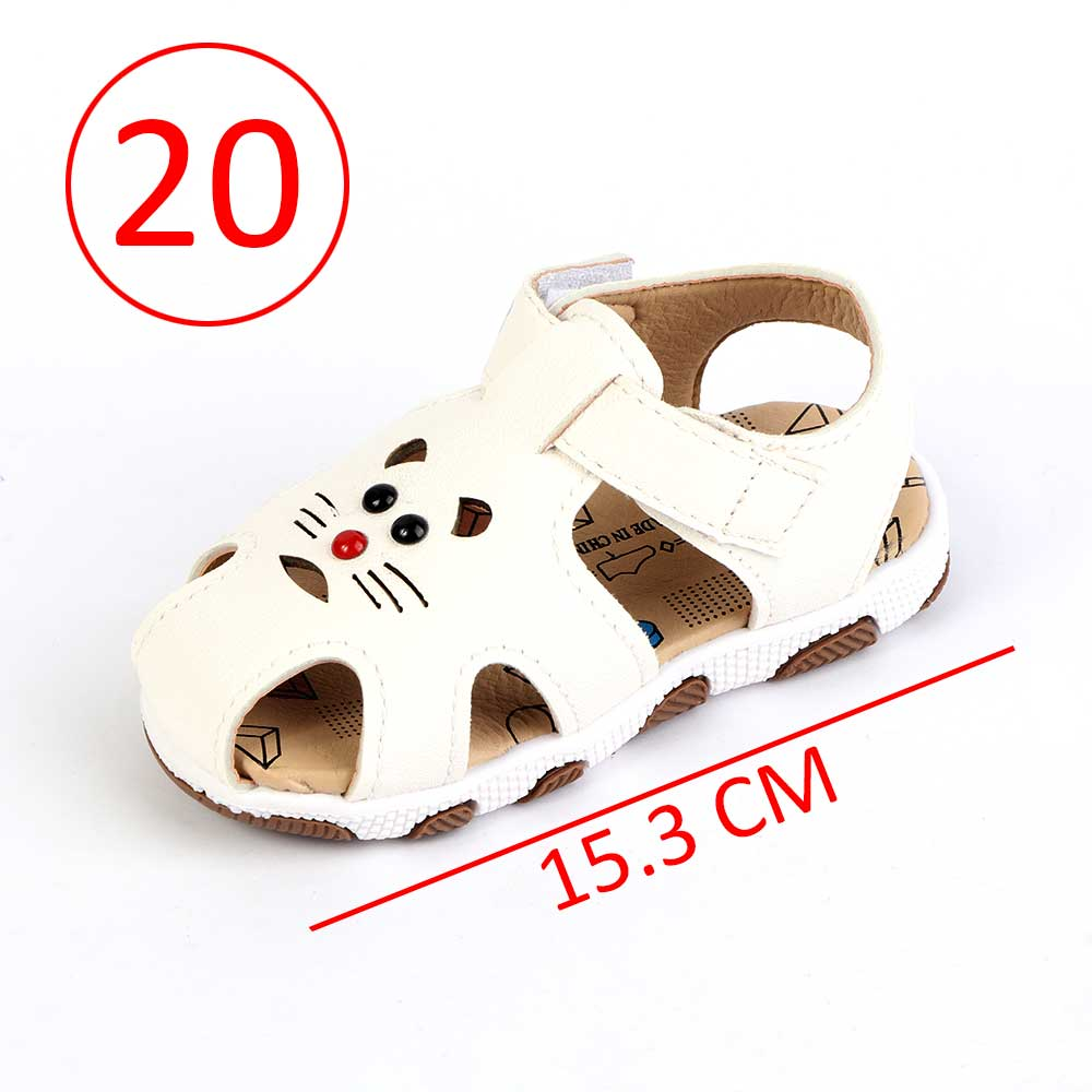 Children Closed Toe Shoes Size 20 Color White متجر 15 وأقل