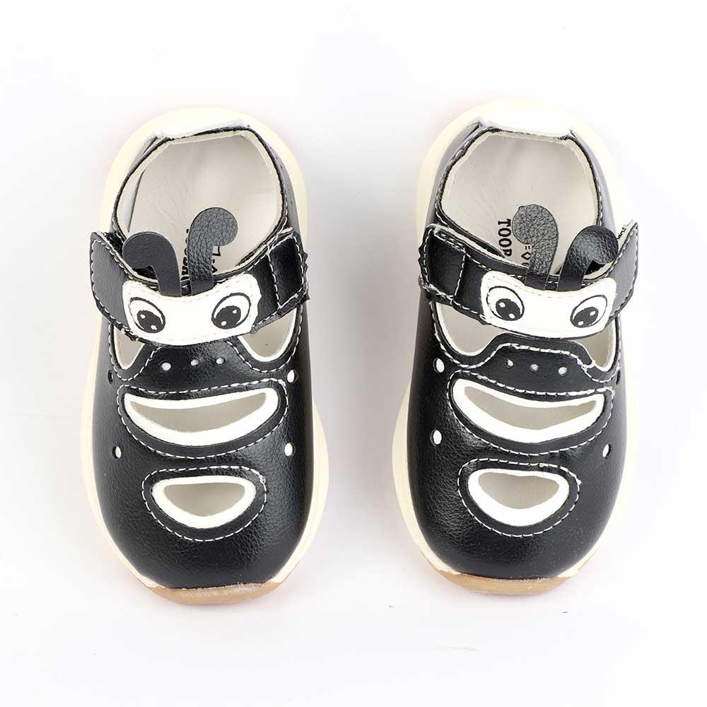حذاء أطفال مقاس 20 لون أسود متجر 15 وأقل