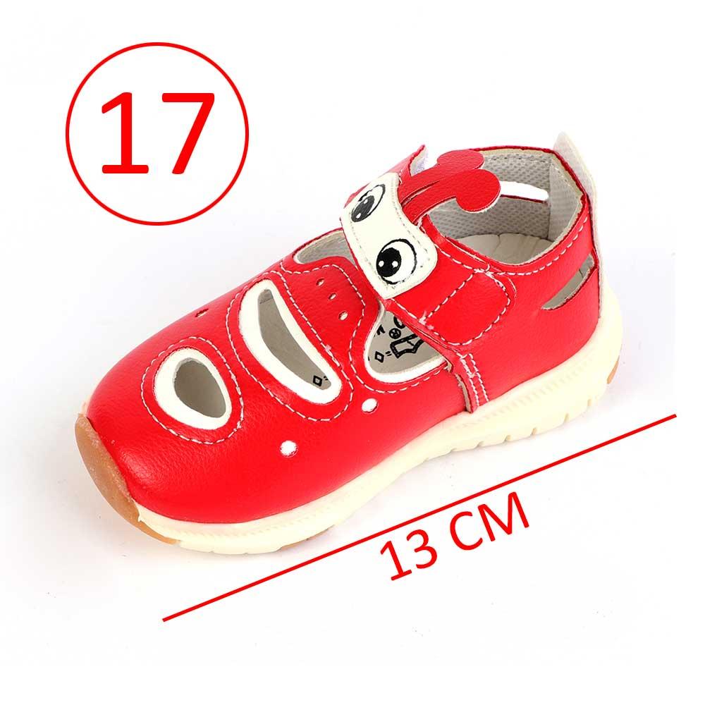 حذاء أطفال مقاس 17 لون أحمر متجر 15 وأقل