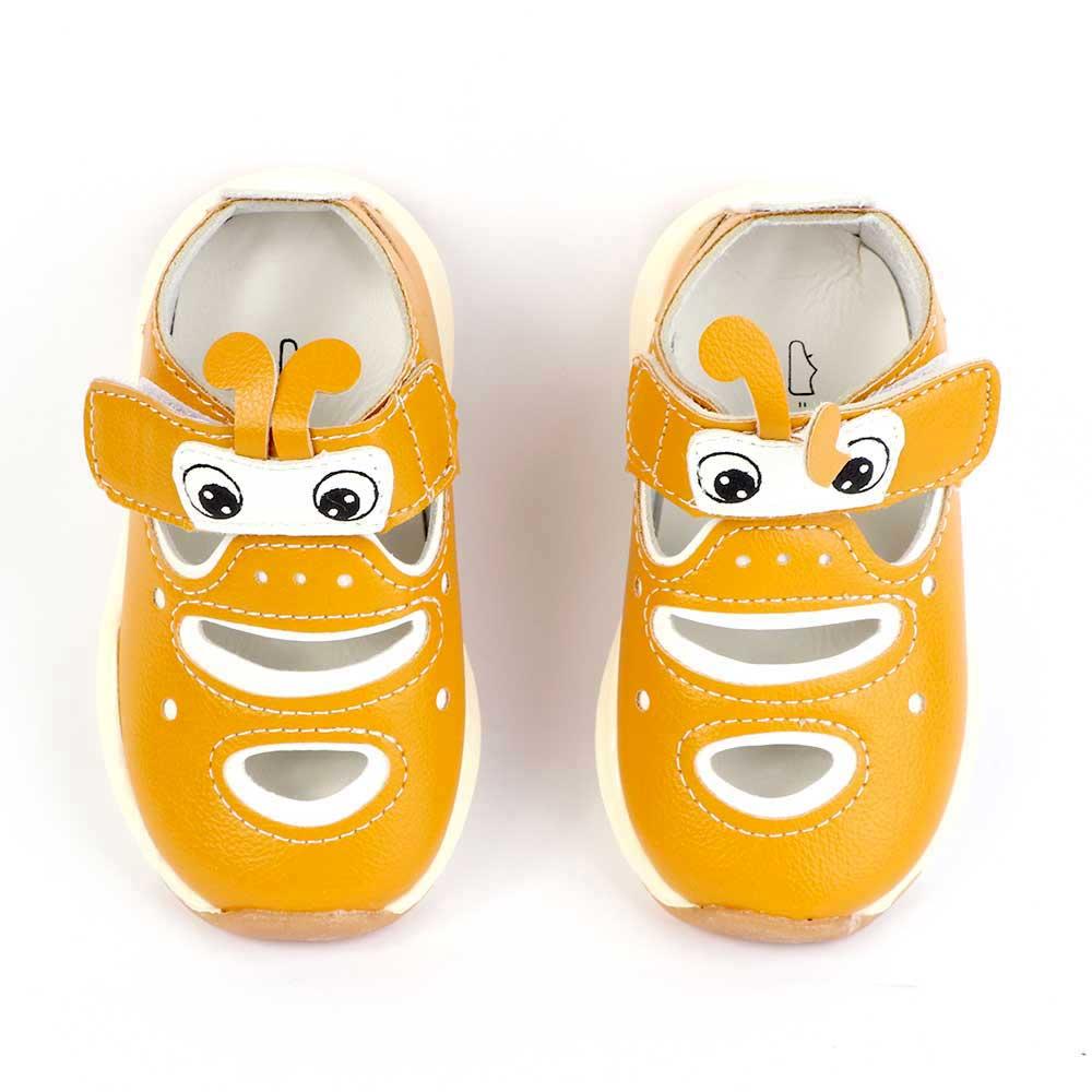 حذاء أطفال مقاس 17 لون أصفر متجر 15 وأقل