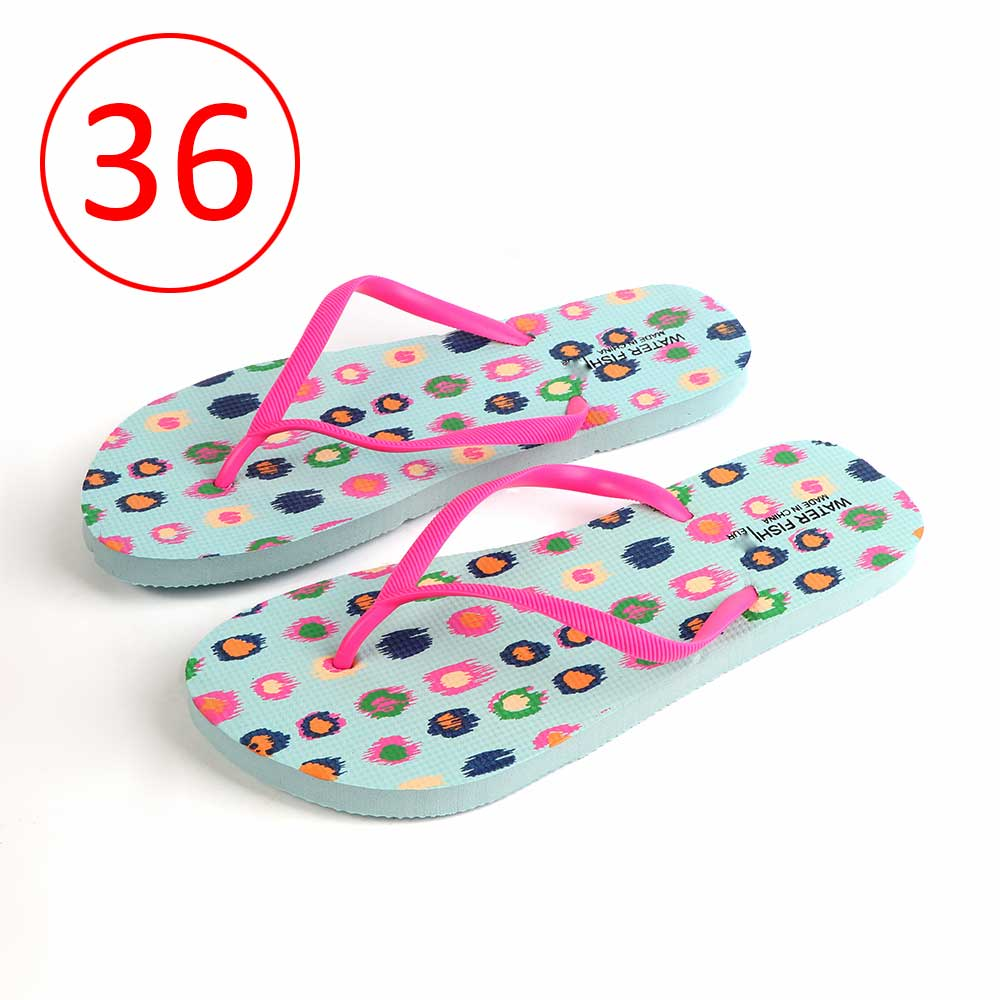 Women Shoes With Colored Dots Size 36 Color Blue متجر 15 وأقل