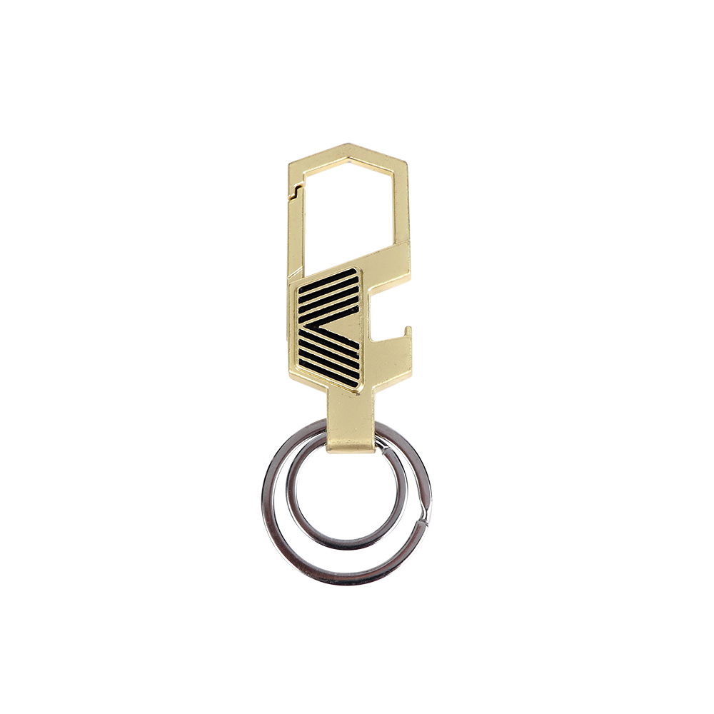 Metal Keychain In Golden Color متجر 15 وأقل
