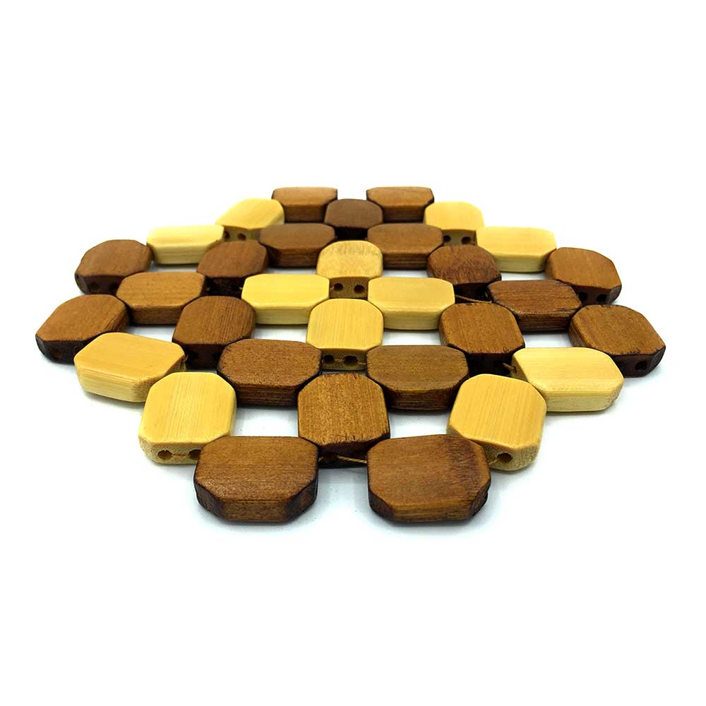 Wooden Coaster For Table Protection متجر 15 وأقل