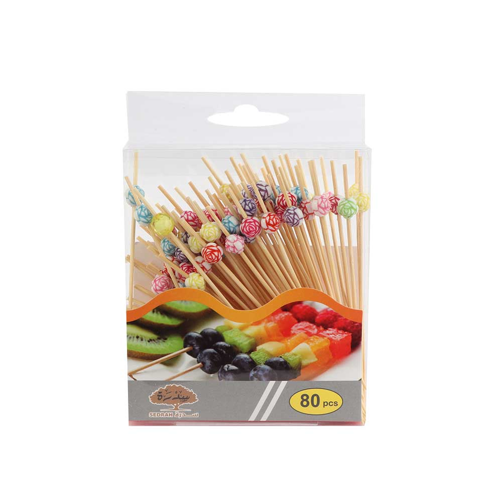 Sticks Set For Decorating With Colorful Flowers 80 Pieces متجر 15 وأقل