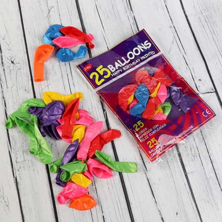 بالونات ملونة للأطفال
