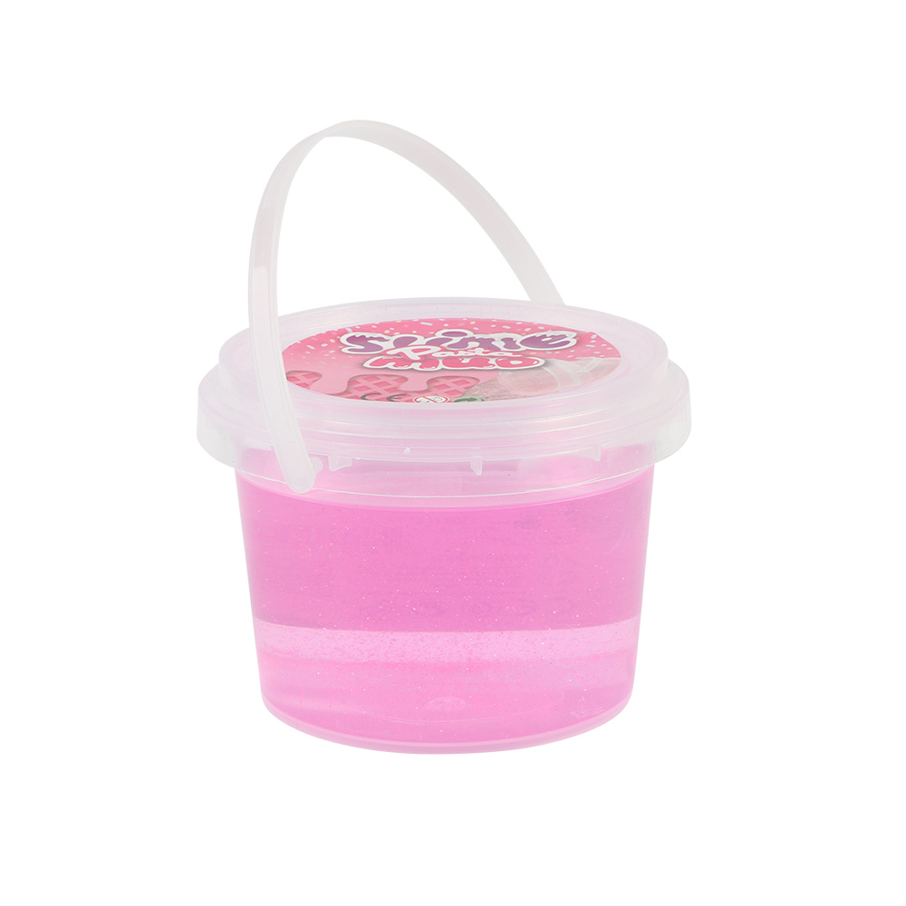 Glitter Gel Slime Putty for Kids 250 Grams Color Pink متجر 15 وأقل
