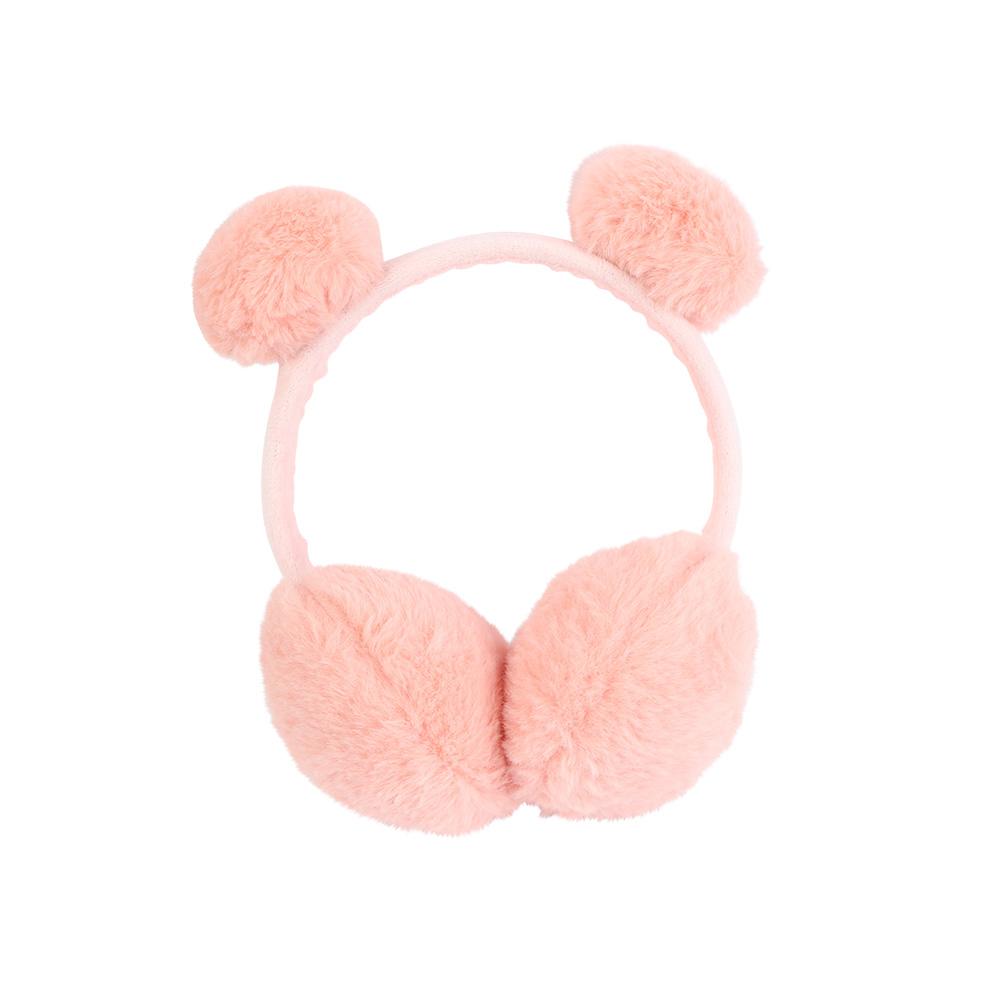 Fur Earmuffs For Children Color Peach متجر 15 وأقل