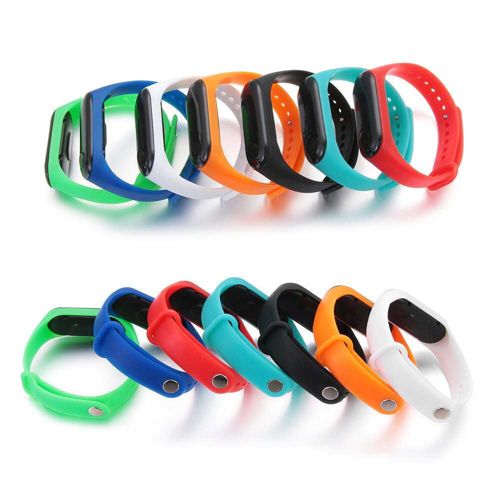 sport silicone wrist watch for kids Green color متجر 15 وأقل