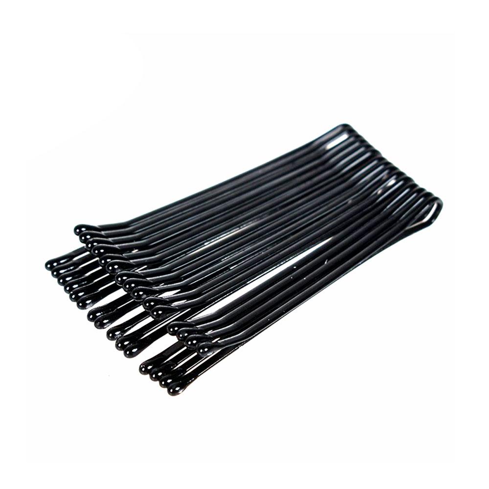 A Set Of Hair Pins Medium Size Color Black متجر 15 وأقل