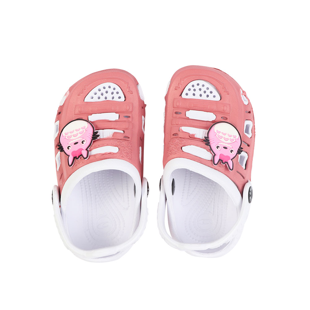Kids Slippers Size 20 Color Pink and White متجر 15 وأقل