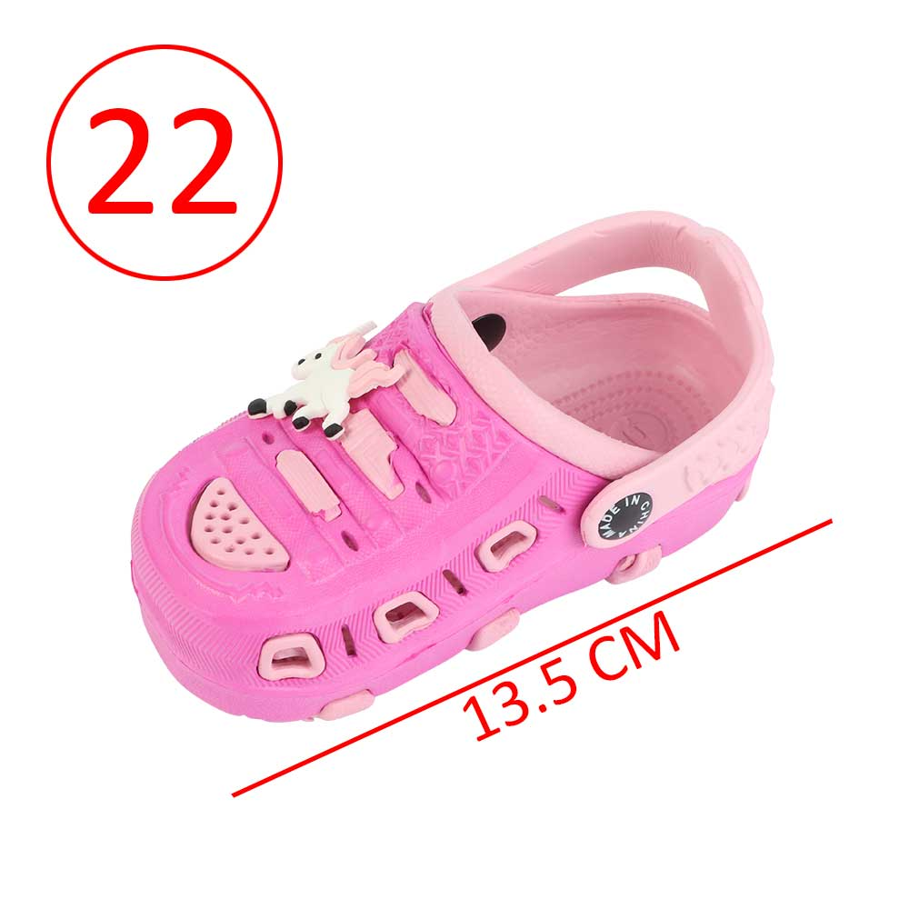 Kids Slippers Size 22 Color Fushia And Pink متجر 15 وأقل