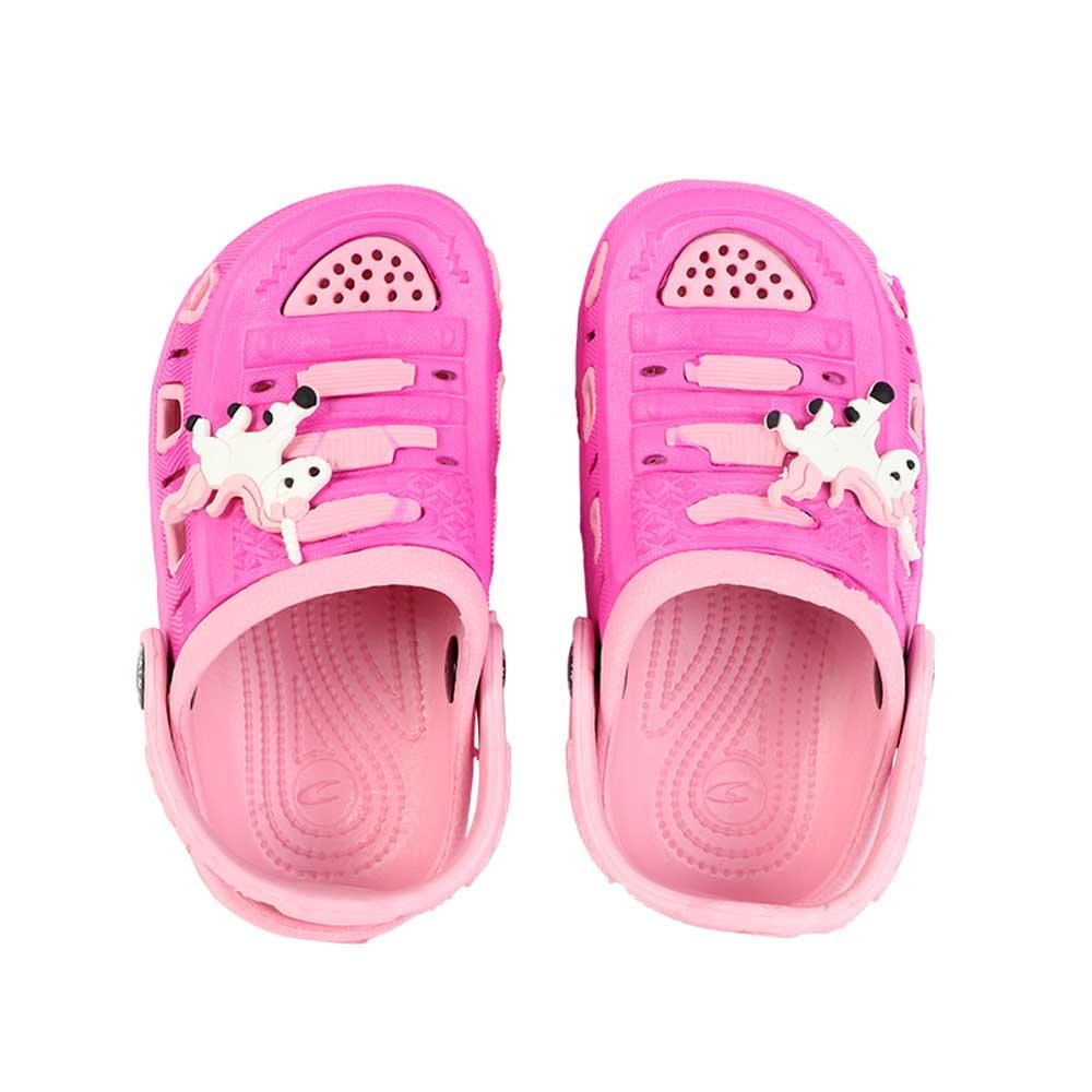 حذاء كروكس للأطفال مقاس 20 لون فوشي مع وردي متجر 15 وأقل