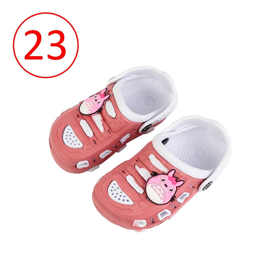حذاء كروكس للأطفال مقاس 23 لون وردي مع أبيض متجر 15 وأقل