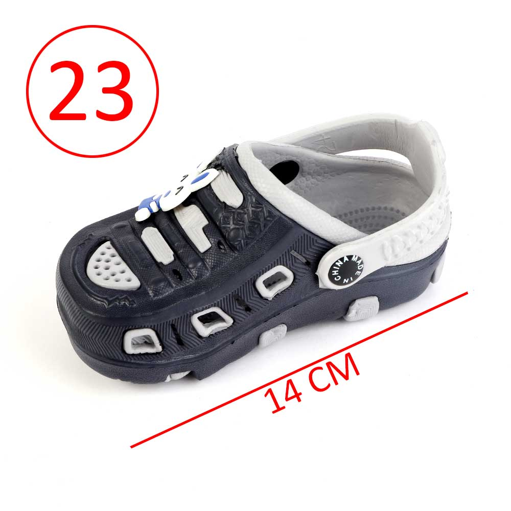 Kids Slippers Size 23 Color Gray And Black متجر 15 وأقل