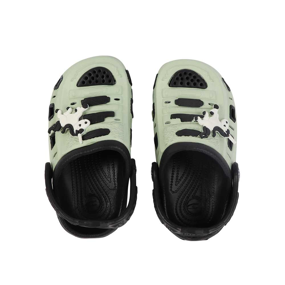 Kids Slippers Size 25 Color Green And Black متجر 15 وأقل