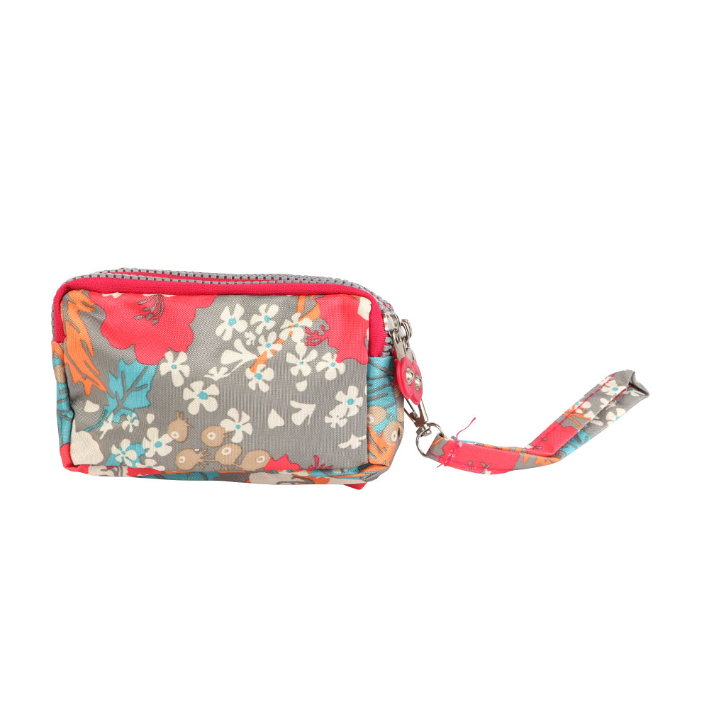 Floral Print Large Wallet For Women In Color Pink متجر 15 وأقل