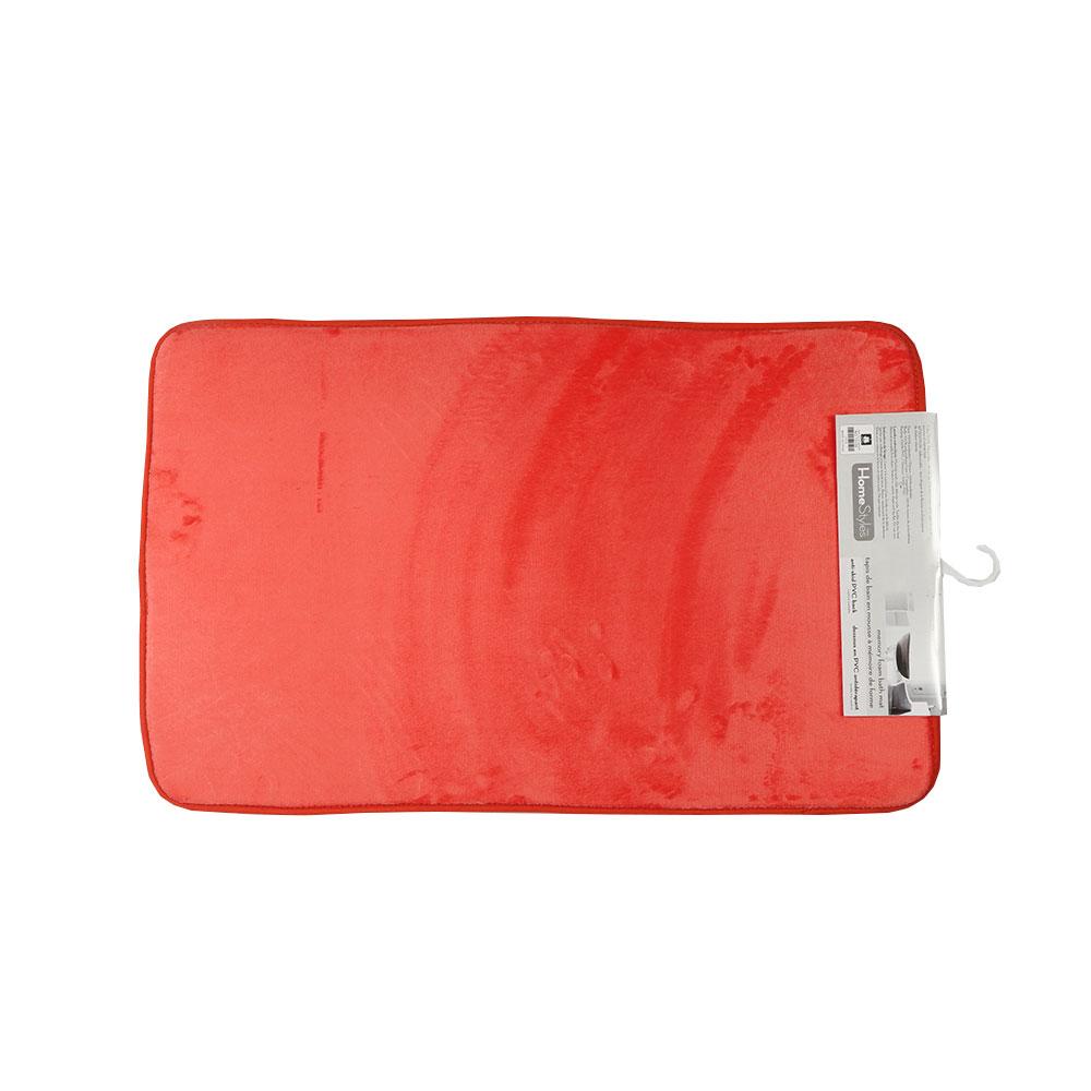 Meomry Foam Mat Size 79 x 50 cm Color Orange متجر 15 وأقل