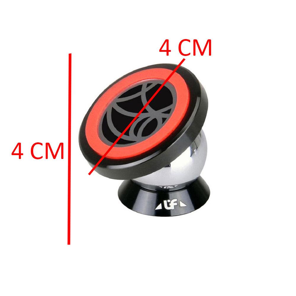 حامل تثبيت مغناطيسي للهواتف المحمولة في السيارة أسود و أحمر متجر 15 وأقل