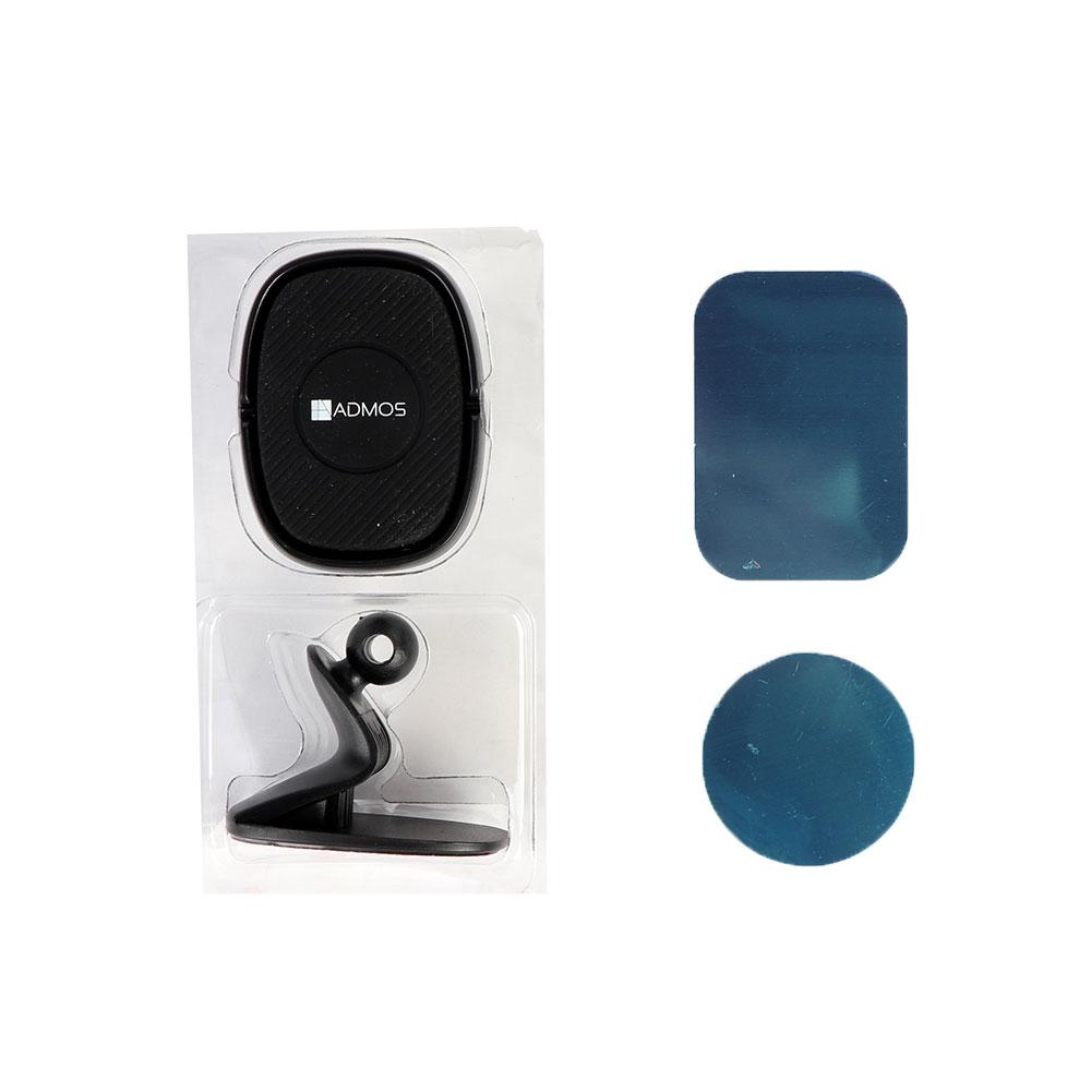 أدموس حامل تثبيت مغناطيسي للهواتف المحمولة في السيارة أسود متجر 15 وأقل