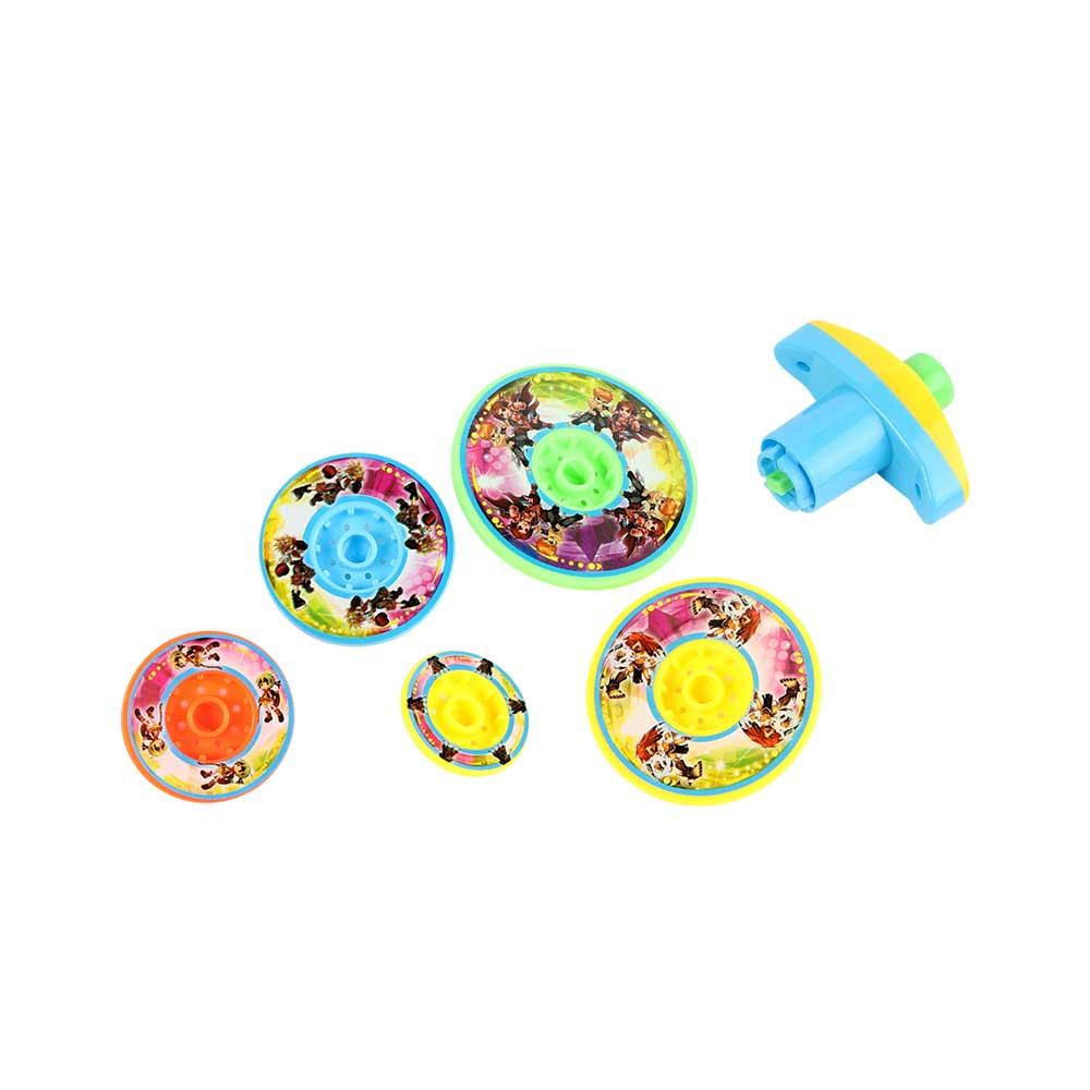 لعبة دوارة 5 قطع ألوان متعددة متجر 15 وأقل