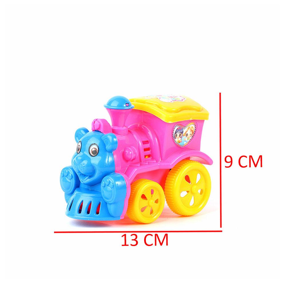 لعبة أطفال على شكل قطار لون وردي متجر 15 وأقل