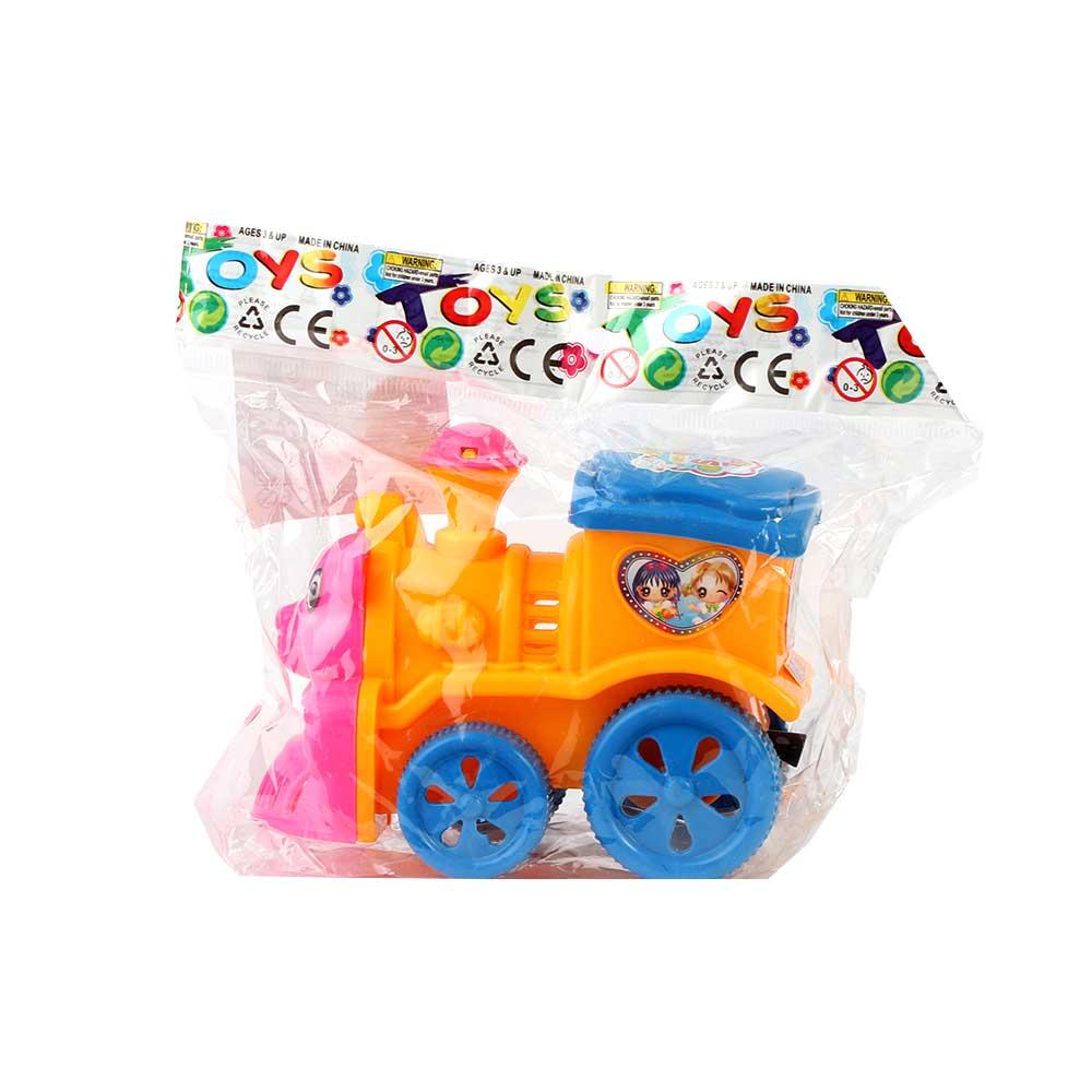لعبة أطفال على شكل قطار لون أصفر متجر 15 وأقل