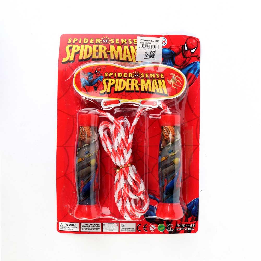 حبل قفز بشخصية سبايدر مان لون أحمر متجر 15 وأقل