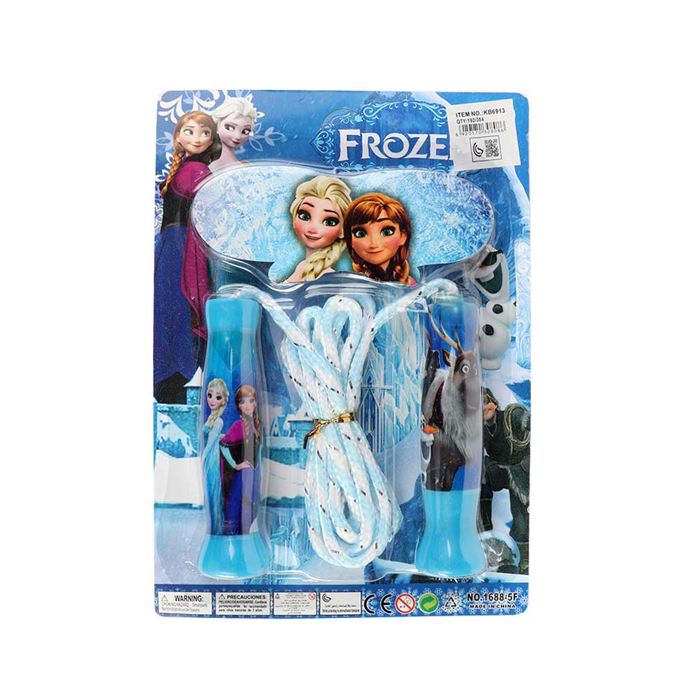 Jumping Rope In Frozen Movie design Color Blue متجر 15 وأقل