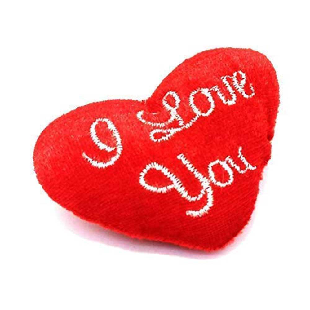 ميدالية مفاتيح بتصميم قلب باللون الأحمر متجر 15 وأقل