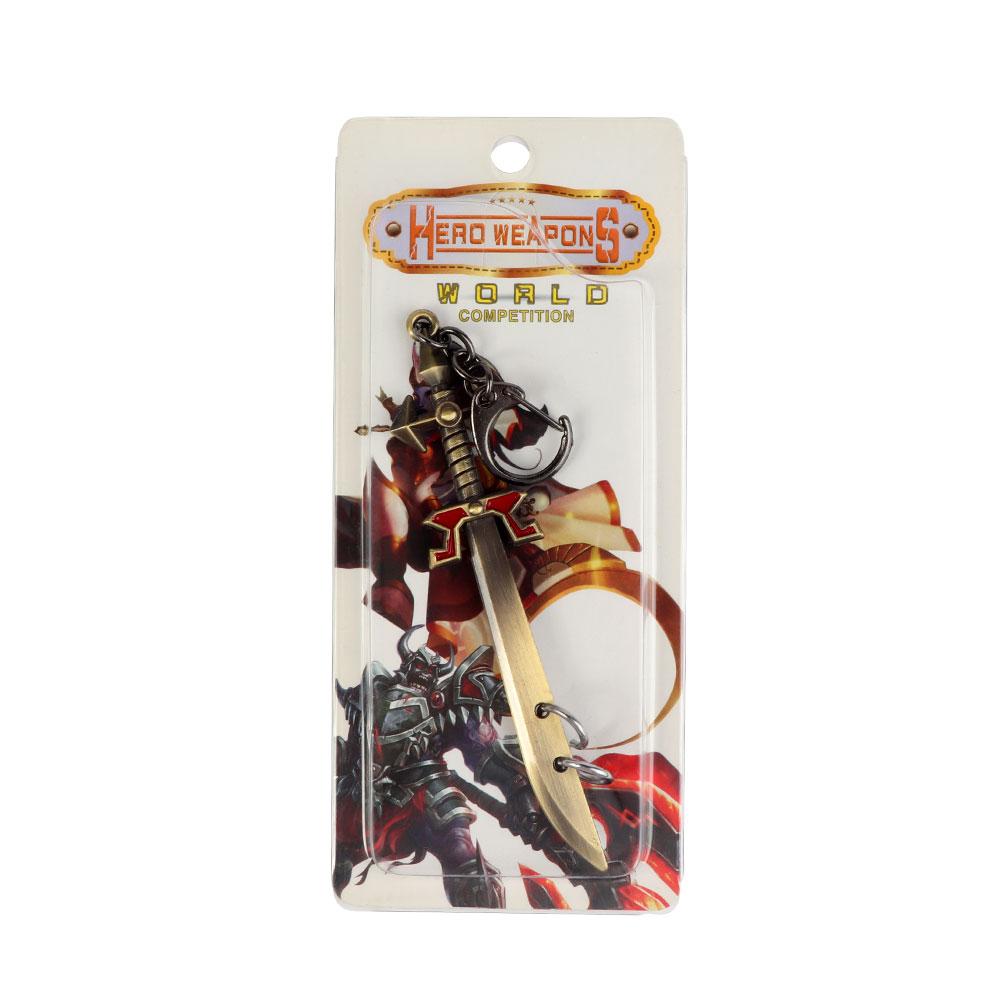 Keychain In Sword Design In Bronze Color Model 1 متجر 15 وأقل