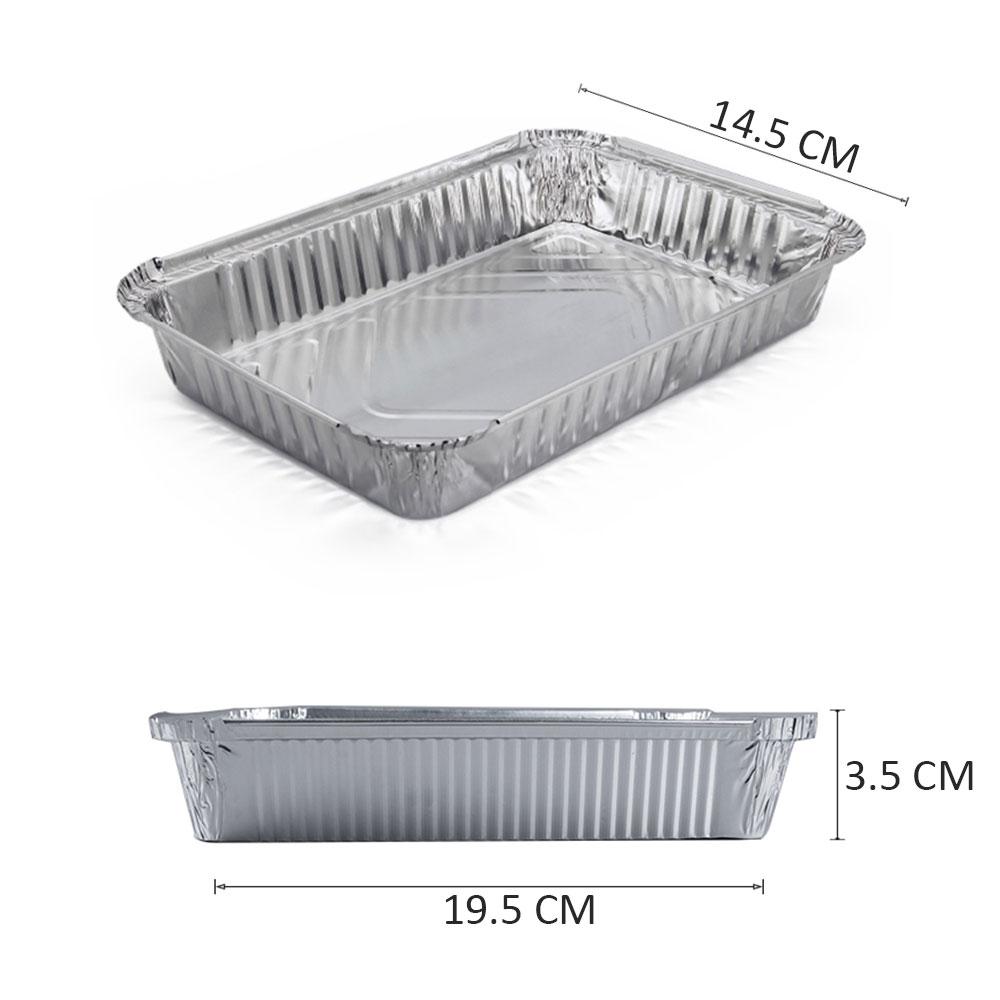Aluminum Box With A Paper Cover Size Medium 6 PCS متجر 15 وأقل