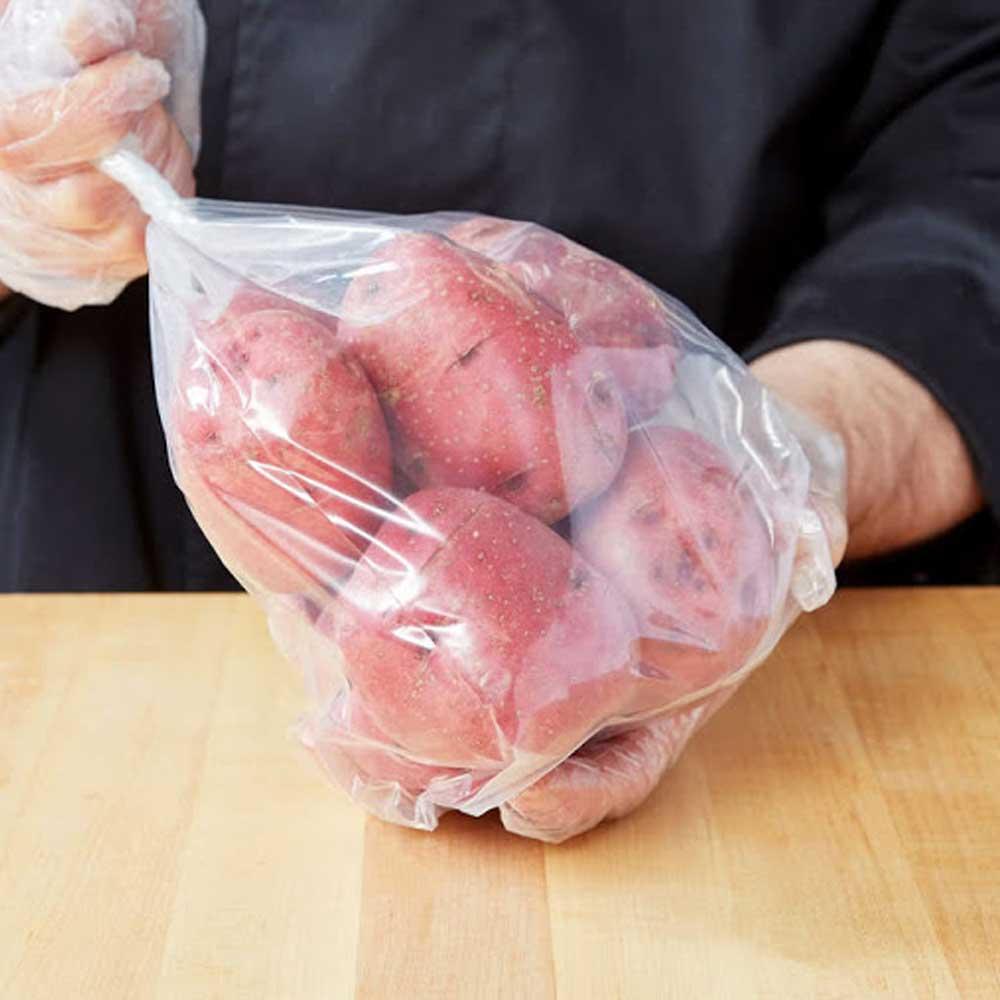 أكياس حرارية مقاس 12 شفافة لحفظ الأطعمة 180 كيس متجر 15 وأقل