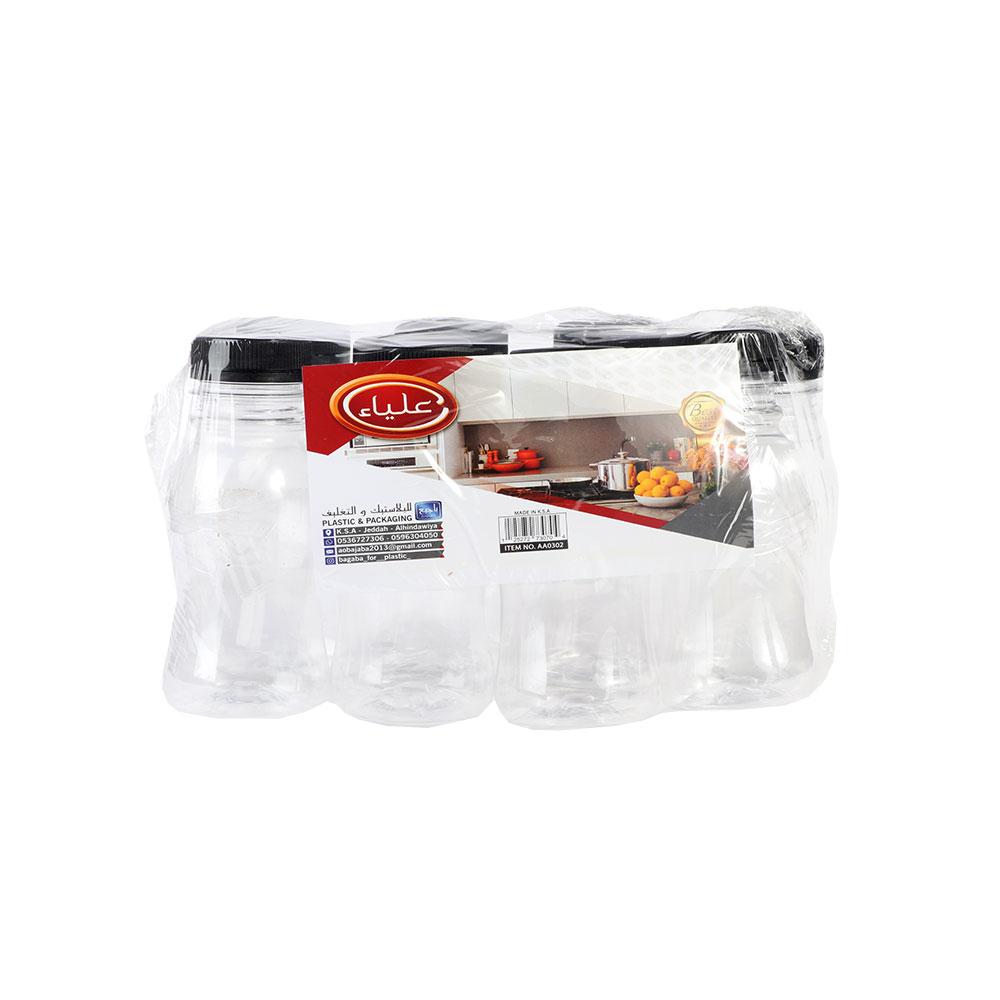 قوارير عصير بلاستكية 200 مل 8 قطع متجر 15 وأقل