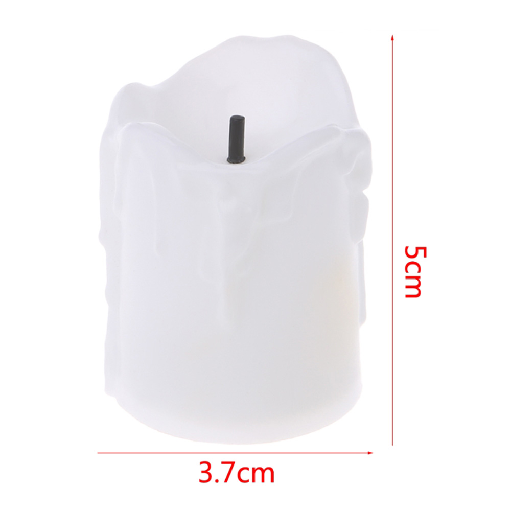 Lamp In A Form of Candle In Color White Color متجر 15 وأقل