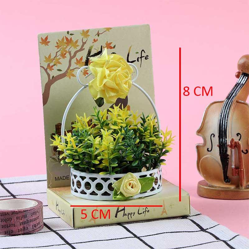 فخامة التصميم علبة توزيعات هدايا ومناسبات ورود صفراء مموجه بأخضر متجر 15 وأقل