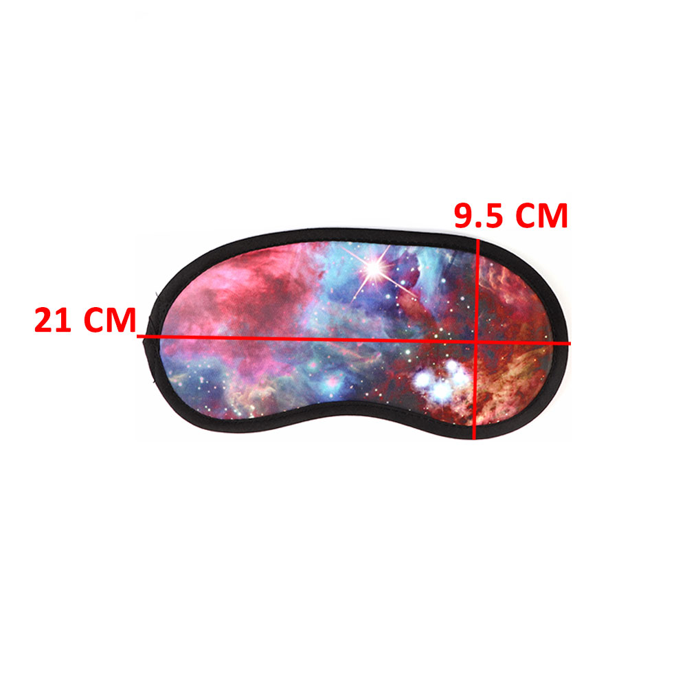 غطاء العين لنوم مثالي نمط الفضاء - نجوم بني متجر 15 وأقل