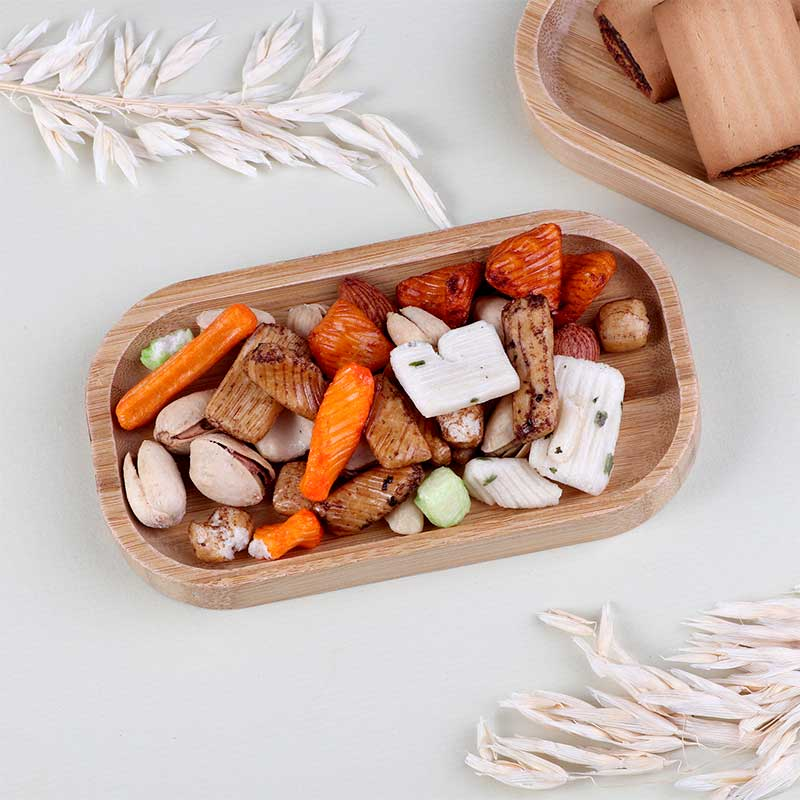 Small Dish To Serve Wooden Appetizers In The Form Of - Rectangle متجر 15 وأقل