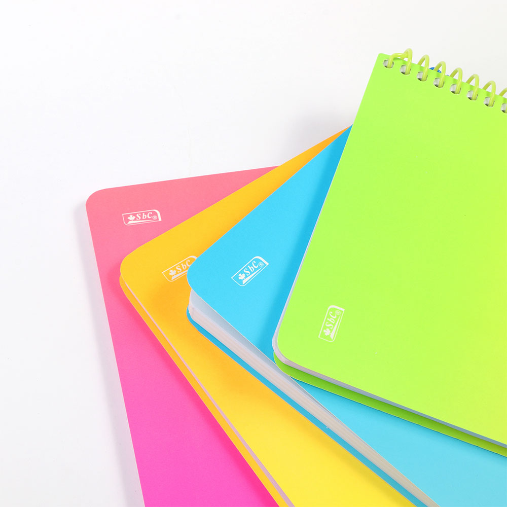 B5 دفتر باستيل سلك مربعات رياضيات 100ورقة لون وردي متجر 15 وأقل