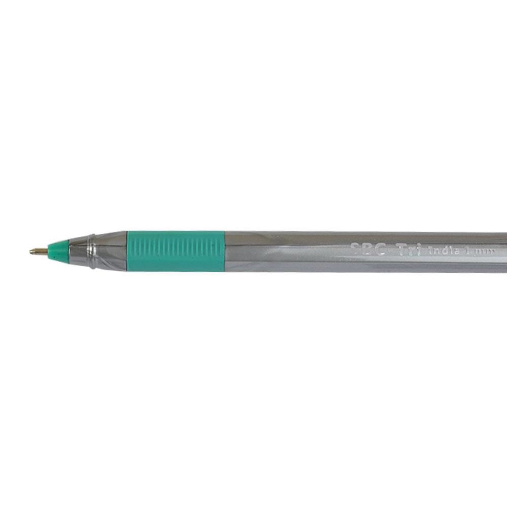 مجموعة أقلام حبر جافة هندية الصنع مكونة من 10 قطع لون أخضر ( علبة ) متجر 15 وأقل