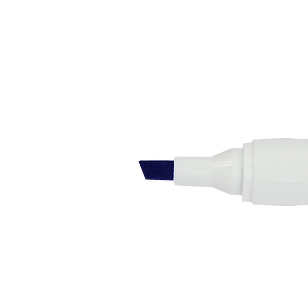 قلم سبورة روكو قابل للمسح برأس مشطوف لون أزرق متجر 15 وأقل